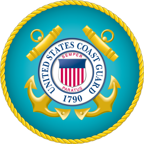 Coast guard coat of arms