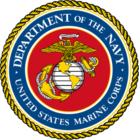 Marine corps coat of arms